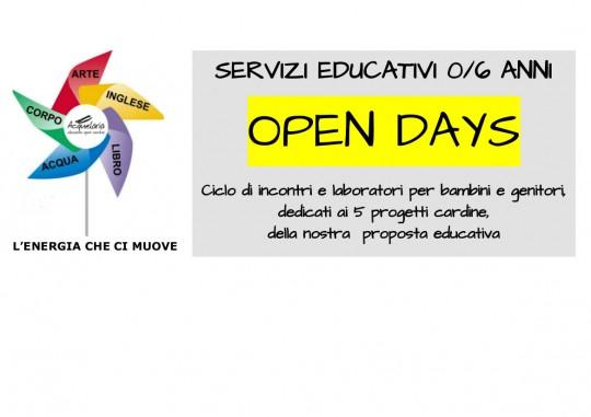 copertina Open Days